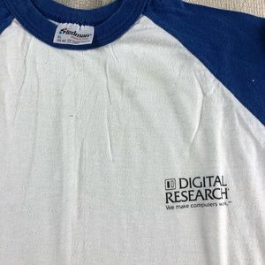 80s Vintage Digital Research Computer Shirt